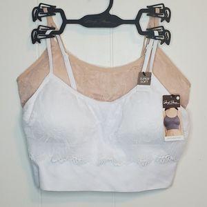 SOLD ON EBAY Marilyn Monroe lace bralette 2pack L